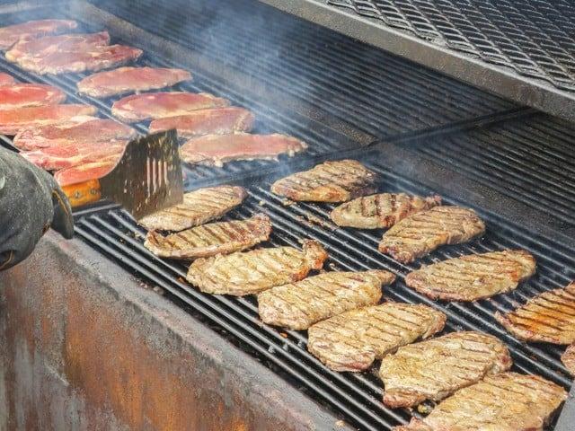 Bedrijfsbarbecue