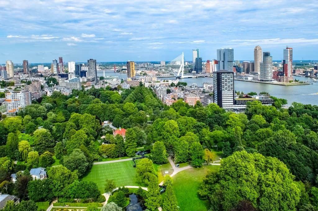Bedrijfsuitje in Rotterdam