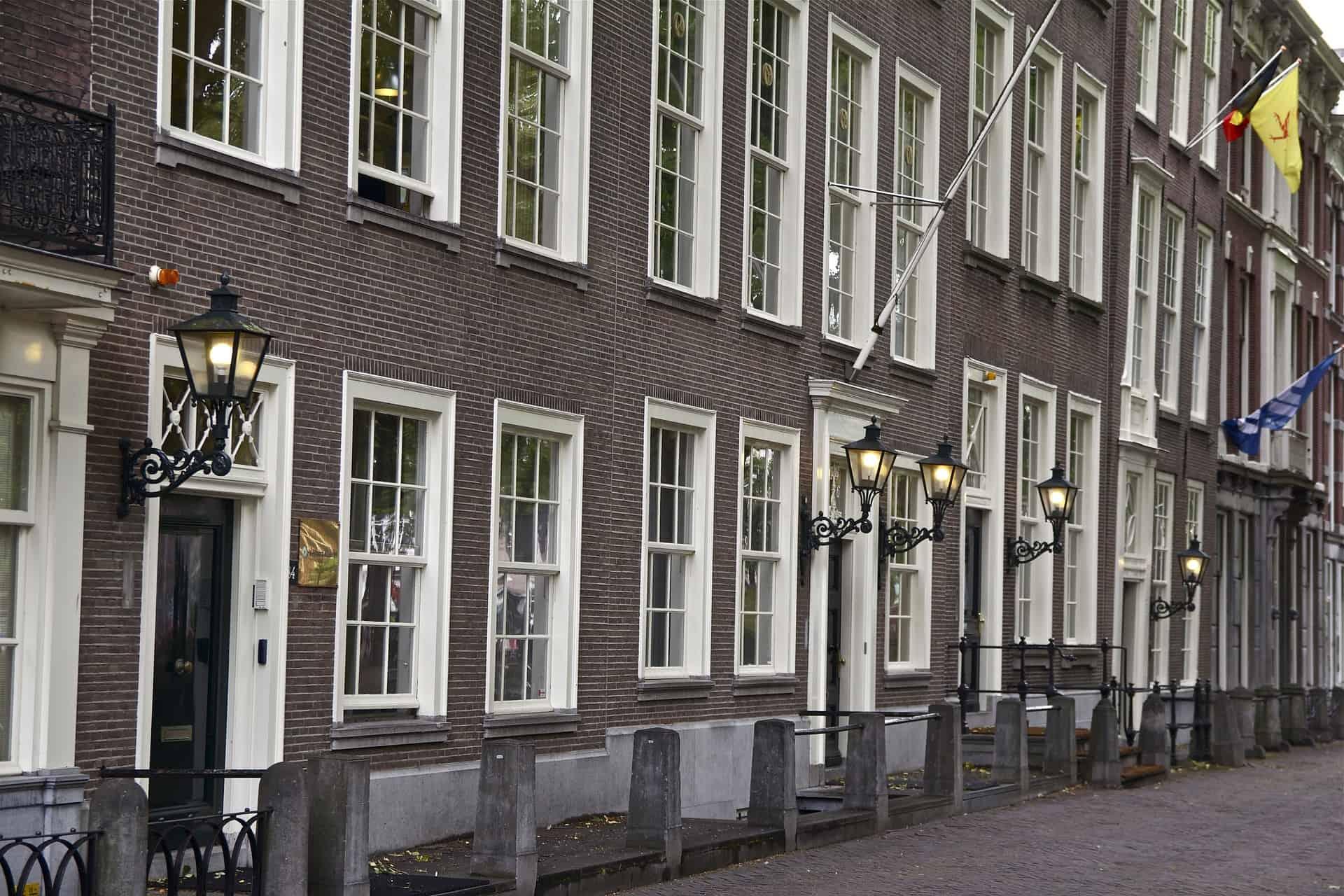 Bedrijfsuitje Den Haag - straten van Den Haag