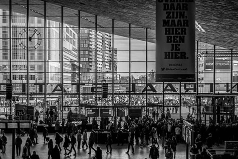 Bedrijfsuitje Rotterdam - Rotterdam centraal